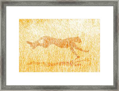 The Hunt Framed Print by Carol and Mike Werner