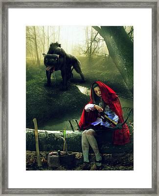 The Hunt Framed Print by Cheri Stollings