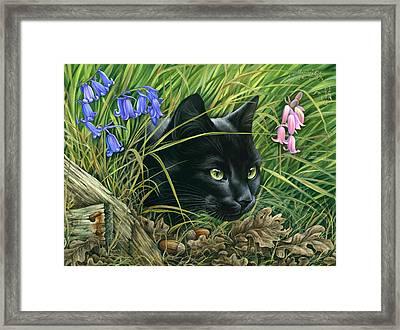 The Hunter Framed Print by Irina Garmashova-Cawton