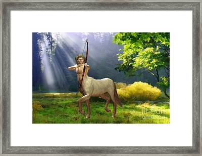 The Hunter Framed Print by John Edwards
