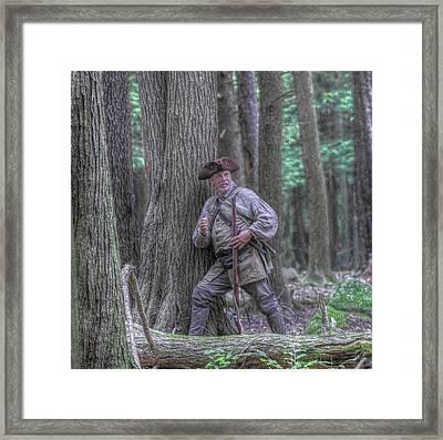 The Hunter Framed Print by Randy Steele