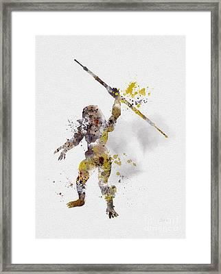 The Hunter Framed Print by Rebecca Jenkins