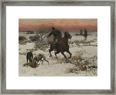 The Hunters Framed Print