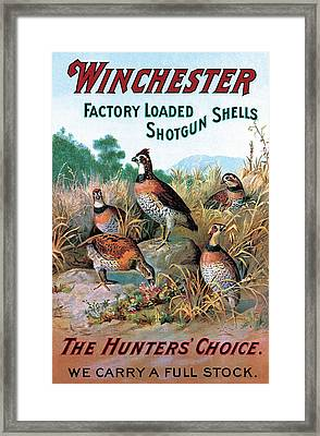 The Hunters Choice Framed Print by Unknown