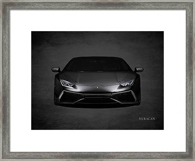 The Huracan Framed Print by Mark Rogan