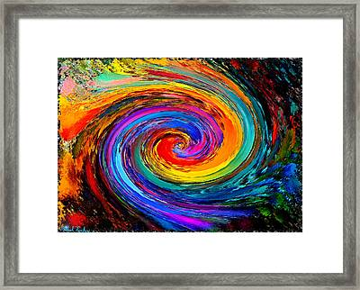 The Hurricane - Abstract Framed Print