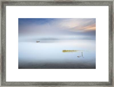 The Hush Framed Print by Martin Marcisovsky