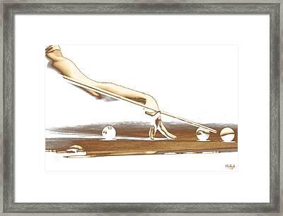 The Hustler Framed Print by Holly Kempe