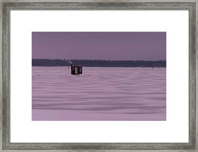 The Hut II Framed Print