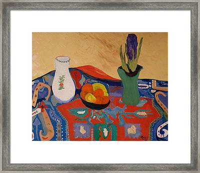 The Hyacinth  By Bill O'connor Framed Print by Bill OConnor