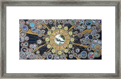 The I Of Life Framed Print by Chandra Daniels