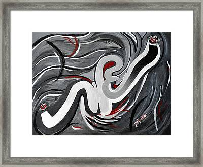 The I That Is We - Soul Of Diversity Framed Print by Donna Proctor