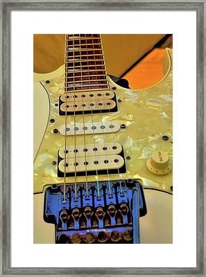 The Ibanez Guitar 2 Framed Print