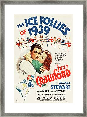 The Ice Follies Of 1939 Framed Print