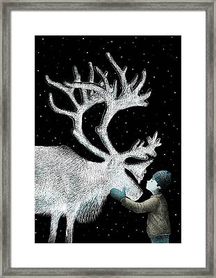The Ice Garden Framed Print by Eric Fan