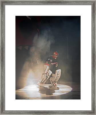 Framed Print featuring the photograph The Iceman Cometh by Ron Dubin