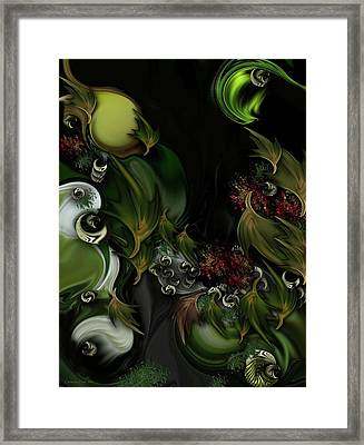 The Idea Of Life Framed Print