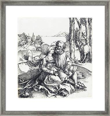 The Ill-assorted Couple Framed Print
