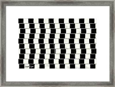 The Illusion - Da Framed Print by Leonardo Digenio
