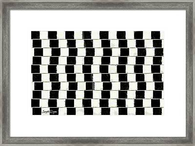 The Illusion Framed Print by Leonardo Digenio