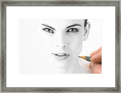 The Illusion Of Perfection Framed Print