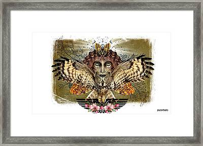 The Illusion Was Exposed Framed Print