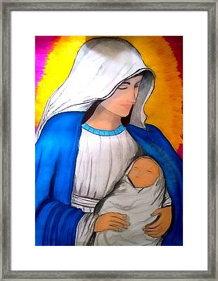 The Immaculate Conception Framed Print by Eliza Paul