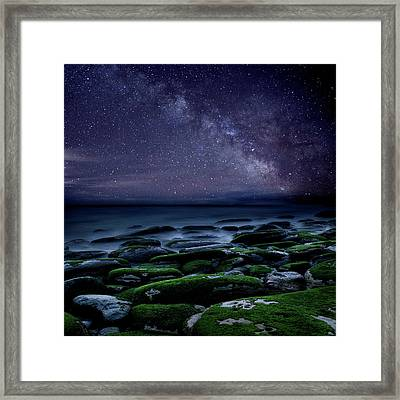 The Immensity Of Time Framed Print
