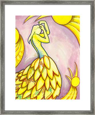 The Immortal Spirit Grows Like Harmony In Music  Framed Print by Mark Stankiewicz