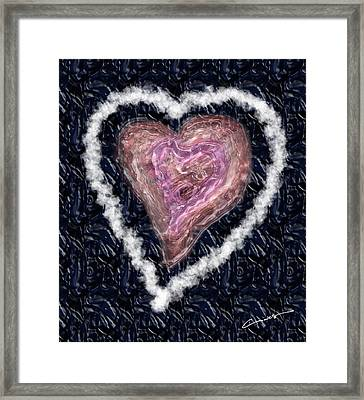 The Imperfection Of A Perfect Love Framed Print