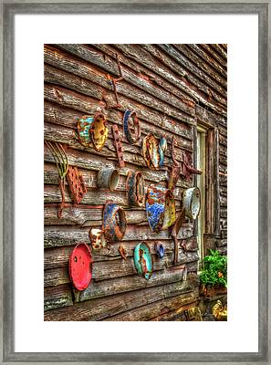 The Important Now Useless Rural Georgia Art Framed Print