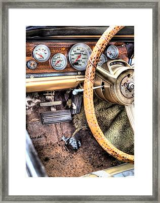 The Important Stuff Framed Print by JC Findley
