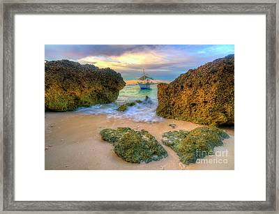 Framed Print featuring the photograph The Inbetweener by Yhun Suarez