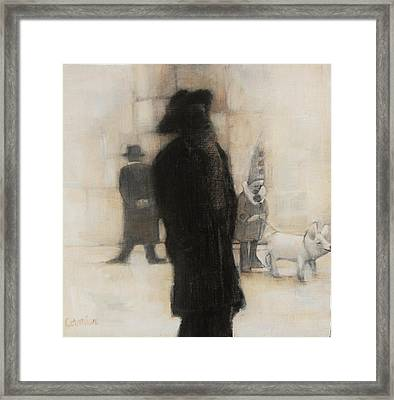 The Incongruity Of It All  Framed Print