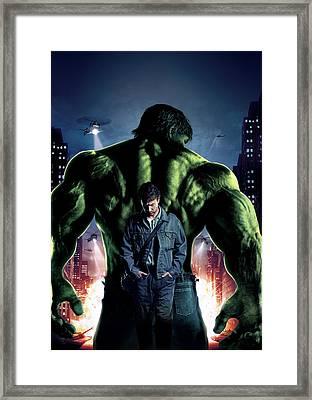 The Incredible Hulk 2008 Framed Print