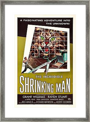 The Incredible Shrinking Man 1957 Framed Print