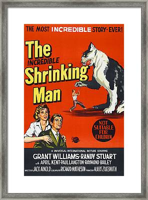 The Incredible Shrinking Man, Bottom Framed Print