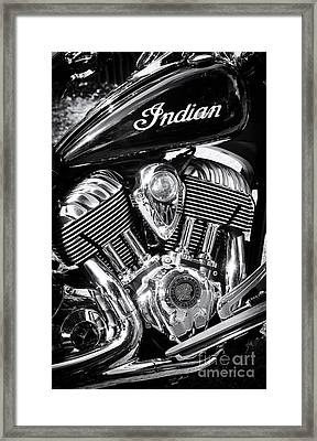 The Indian Chief Motorcycle Framed Print