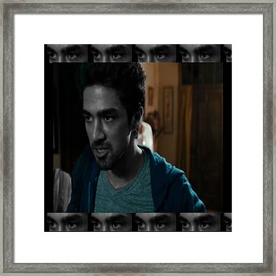The Indian In The Closet  Bollywood Artist Plays Main Gay Young Man Character Checkout The Anger And Framed Print