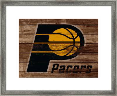 The Indiana Pacers 3b Framed Print by Brian Reaves