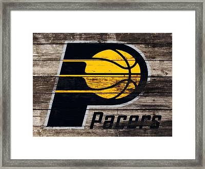 The Indiana Pacers 3e Framed Print by Brian Reaves