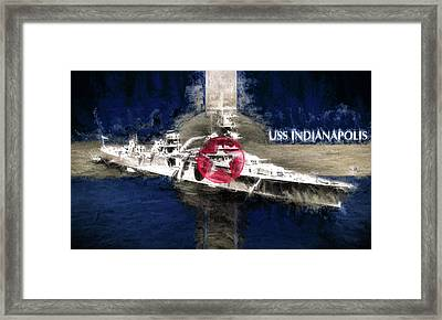 The Indianapolis Framed Print by JC Findley