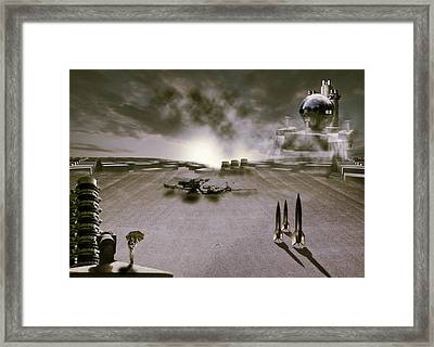 The Industrial Revolution Framed Print