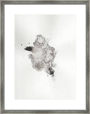The Inexplicable Ignition Of Time Expanding Into Free Space Phase One Number 14 Framed Print by Mark M  Mellon