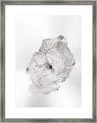 The Inexplicable Ignition Of Time Expanding Into Free Space Phase One Number 16 Framed Print