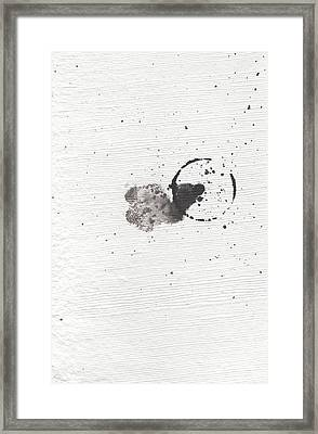 The Inexplicable Ignition Of Time Expanding Into Free Space Phase One Number 18 Framed Print