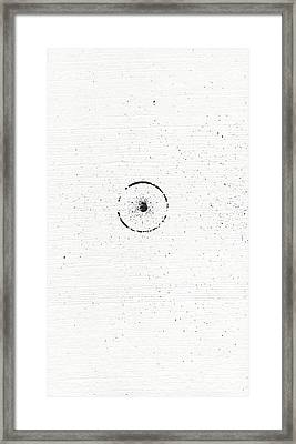 The Inexplicable Ignition Of Time Expanding Into Free Space Phase One Number 3 Framed Print
