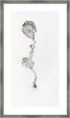 The Inexplicable Ignition Of Time Expanding Into Free Space Phase One Number 9 Framed Print by Mark M  Mellon