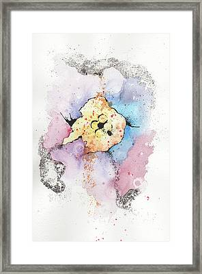 The Inexplicable Ignition Of Time Expanding Into Free Space Phase Two Number 08 Framed Print by Mark M  Mellon
