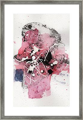 The Inexplicable Ignition Of Time Expanding Into Free Space Phase Two Number 14 Framed Print by Mark M  Mellon